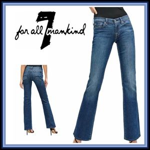 NEW 7 FOR ALL MANKIND 29 Medium Wash Jeans
